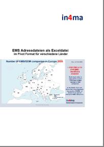 Adresslisten der EMS Industrie in Europa
